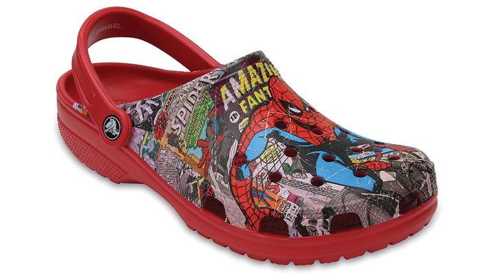 Crocs Multi Classic Spiderman™ Clogs Shoes 20437290H