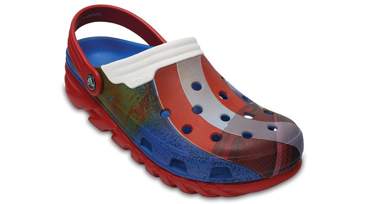 Crocs Multi Duet Max Captain America™ Clogs Shoes
