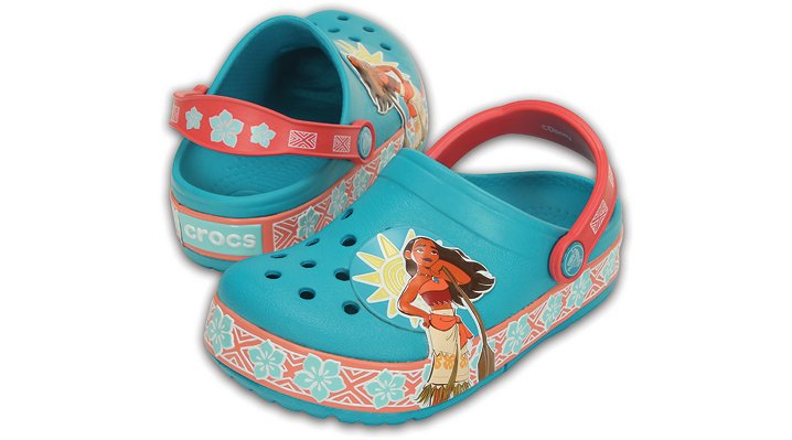 Crocs Multi Kids' Crocslights Disney Moana™ Clog Shoes