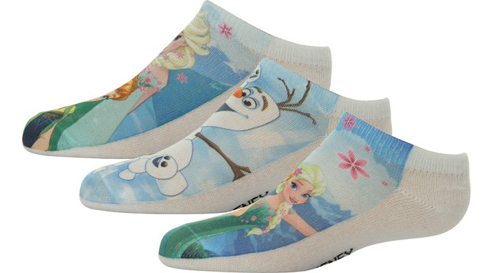 Non Brand Multi Kids' Frozen Fever™ Socks 3-Pack Shoes