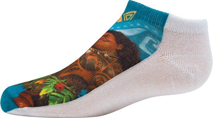 Non Brand Multi Kids' Moana™ Photorealistic Socks 3-Pack Shoes