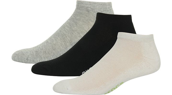 Crocs Multi / White Adults' Low Basic Socks 3-Pack Shoes