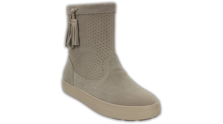 Crocs Mushroom Women's Lodgepoint Suede Pull-On Boot Shoes