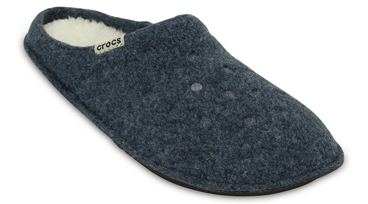 Crocs Nautical Navy / Oatmeal Classic Slipper Shoes
