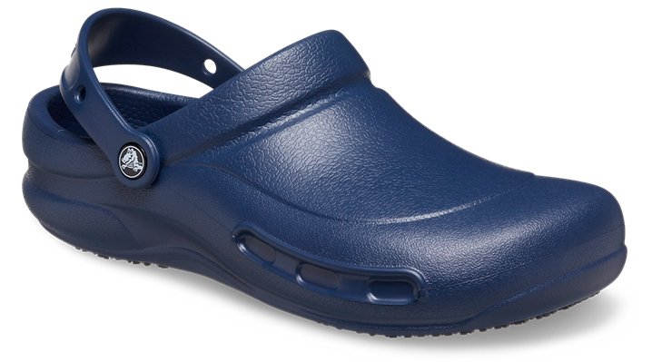 Crocs Navy Bistro Comfortable Work Shoes