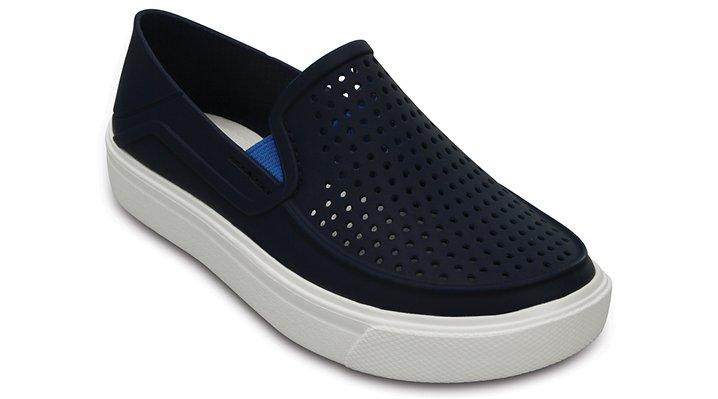 Crocs, Inc. Crocs Navy Kids' Citilane Roka Slip - on Shoes
