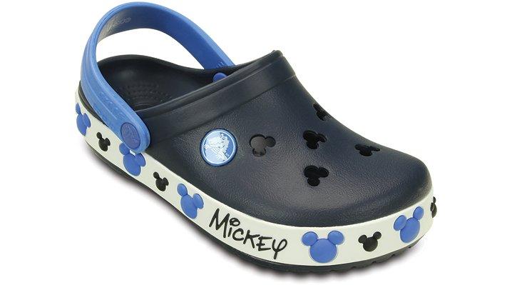 Crocs Navy Kids' Crocband™ Mickey Iv Clog Shoes