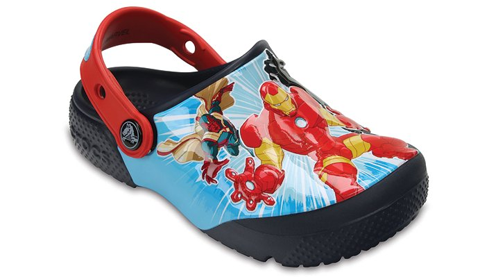 Crocs Navy Kids' Crocs Fun Lab Marvel® Avengers™ Clogs Shoes