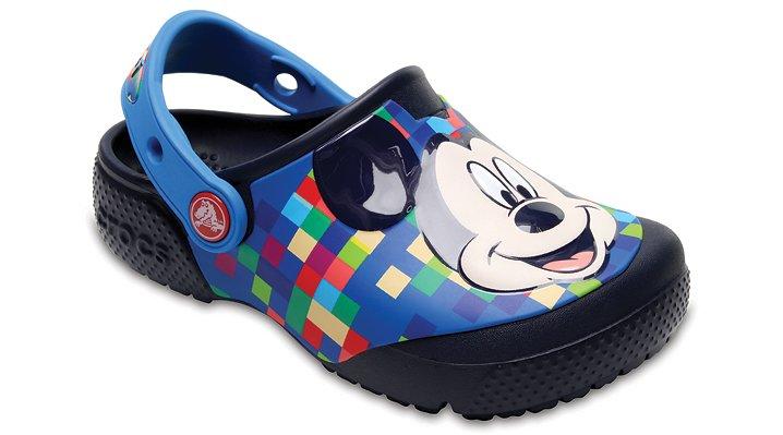 Crocs Navy Kids' Crocs Fun Lab Mickey™ Clog Shoes