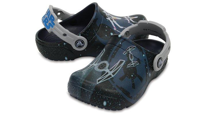 Crocs Navy Kids' Crocs Fun Lab Star Wars™ Clogs Shoes