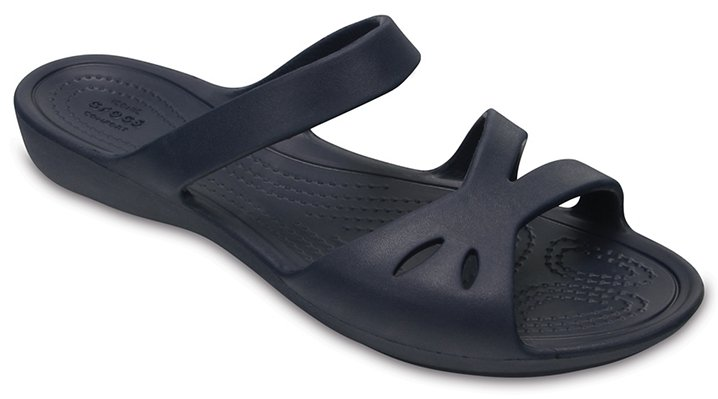 Crocs Navy Women's Crocs Kelli Sandals Shoes