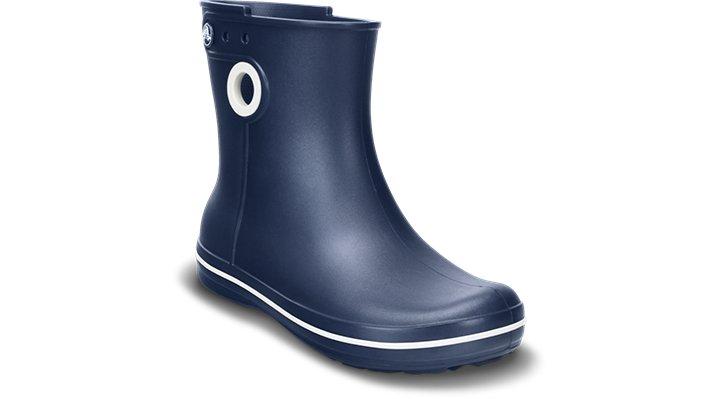 Crocs Navy Women'S Jaunt Shorty Boot Shoes