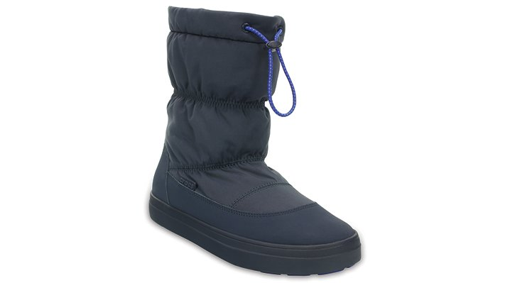 Crocs Navy Women's Lodgepoint Pull-On Boot Shoes