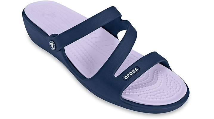 Crocs Navy / Lavender Patricia Shoes