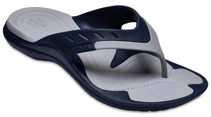 Crocs Navy / Light Grey Modi Sport Flip Shoes