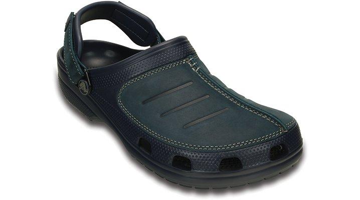 Crocs Navy / Navy Men's Yukon Mesa Clog Shoes