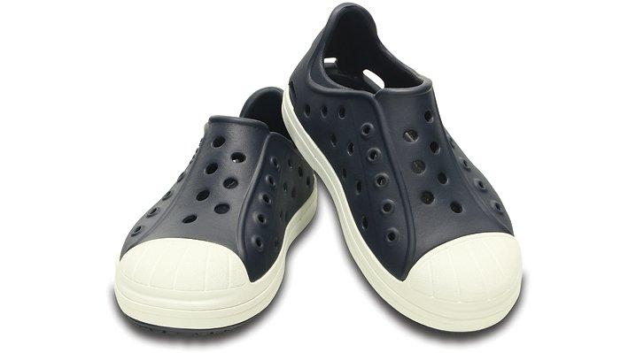 クロックス 公式オンラインショップ【クロックス公式】【送料無料】【最短翌日お届け】 クロックス バンプ イット シュー キッズ - Crocs Bump It Shoe Kids 18.5cm ブルー スニーカー