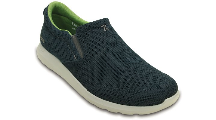 Crocs Navy / Pearl Men's Crocs Kinsale Mesh Slip-On Shoes