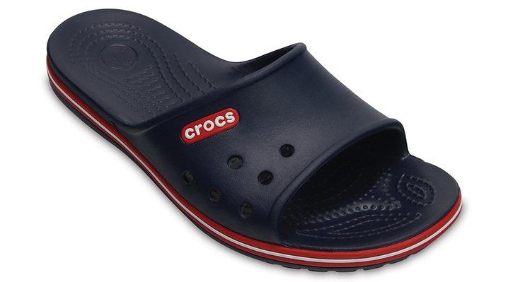 Crocs Navy / Pepper Crocband Ii Slide Shoes