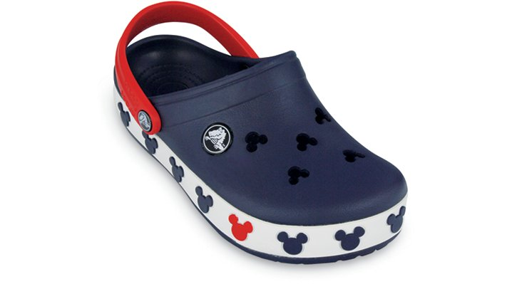 Crocs Navy / Red Crocband Mickey Ii Kids Shoes