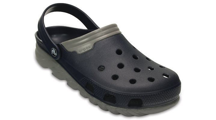 Crocs Navy / Smoke Duet Max Clog Shoes