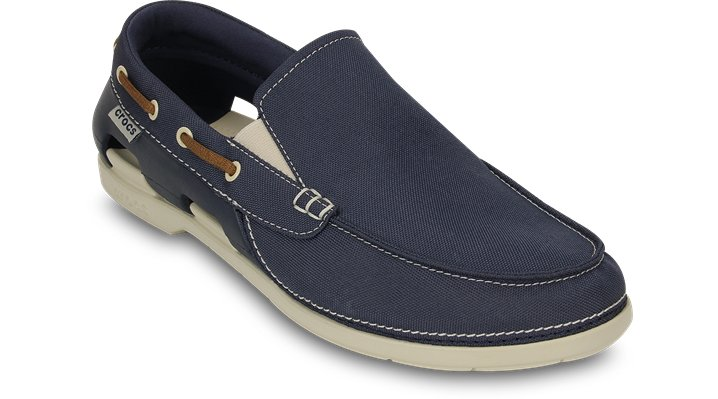 Men S Beach Line Boat Shoe