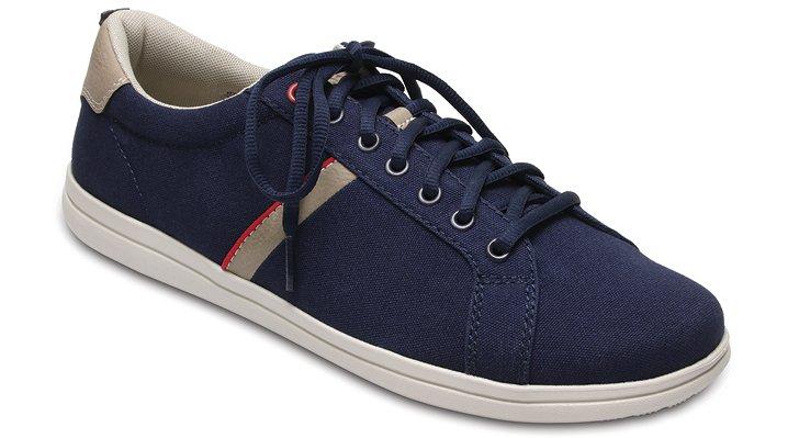 Crocs Navy / Stucco Men's Crocs Torino Lace-Up Shoes