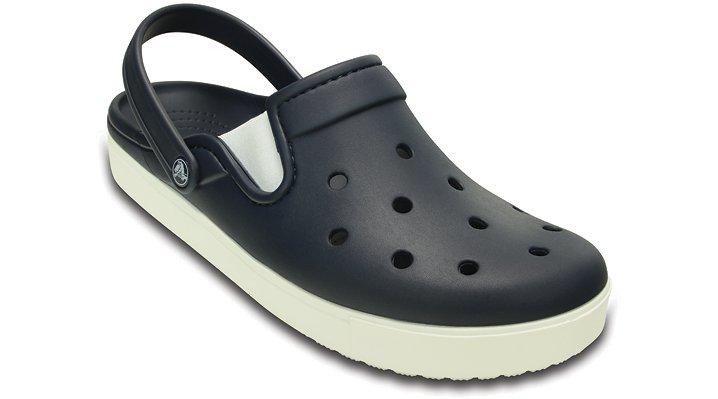 Crocs Navy / White Citilane Clog Shoes