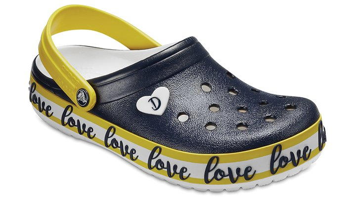 Crocs Navy / White Drew Barrymore Crocs Crocband™ Clogs Shoes