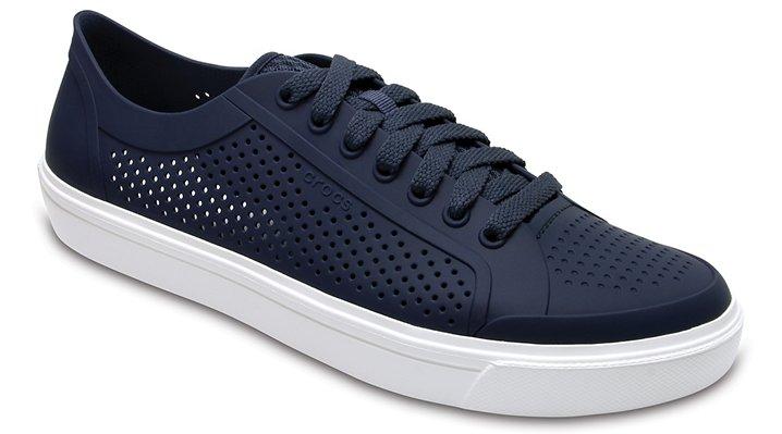 Crocs Navy / White Men's Citilane Roka Court Shoes