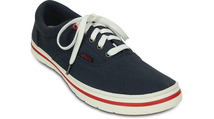 Crocs Navy / White Men's Crocs Norlin Plim Shoes