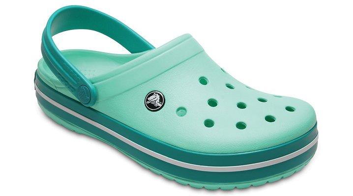 Crocs New Mint/Tropical Teal Crocband™ Clog Shoes