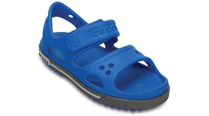 Crocs Ocean / Smoke Kids' Crocband™ Ii Sandal Shoes