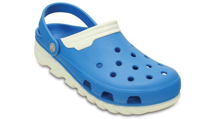Crocs Ocean / White Duet Max Clog Shoes