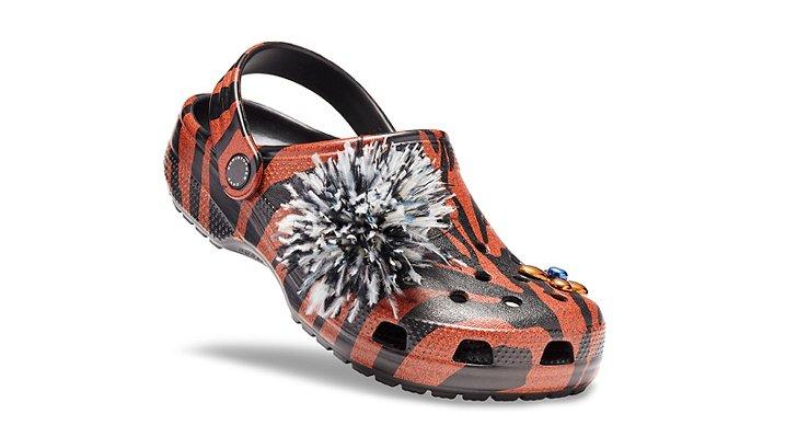 Crocs Ochre Christopher Kane X Crocs Ochre Tiger Clogs Shoes