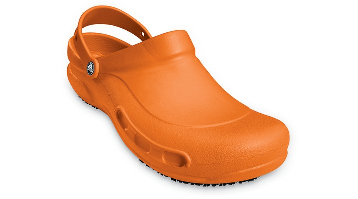 Crocs Orange (Coral) Bistro Mario Batali Edition Comfortable Work Shoes