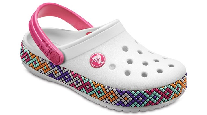 Crocs Oyster Kids' Crocband™ Gallery Clogs Shoes