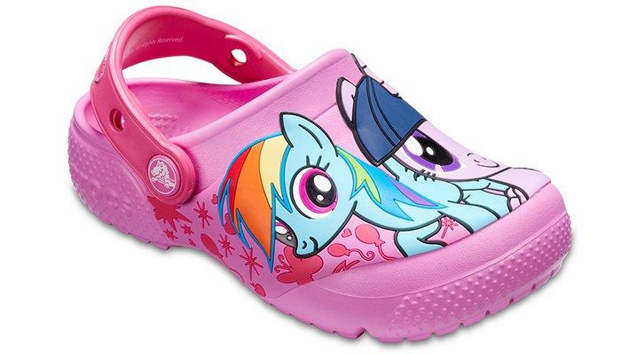 Crocs Party Pink Kids' Crocs Fun Lab My Little Pony™ Clogs Shoes