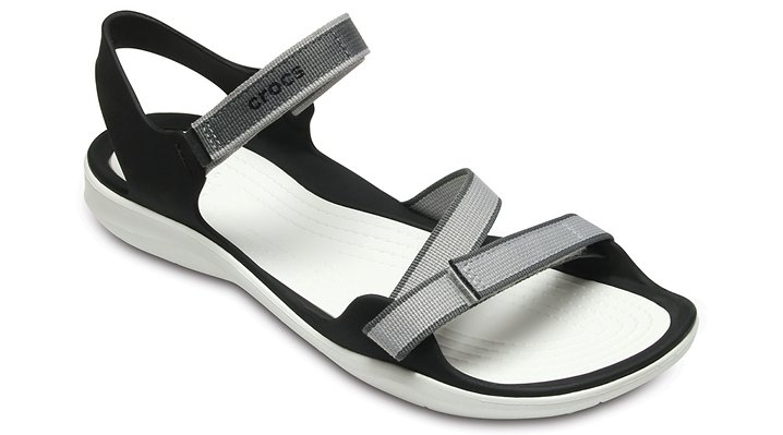 Crocs Pearl Women's Swiftwater Webbing Sandal Shoes
