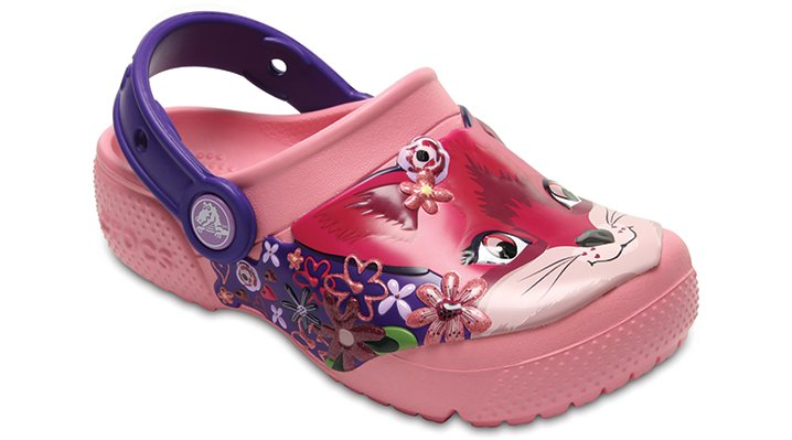 Crocs Peony Pink Kids' Crocs Fun Lab Clog Shoes