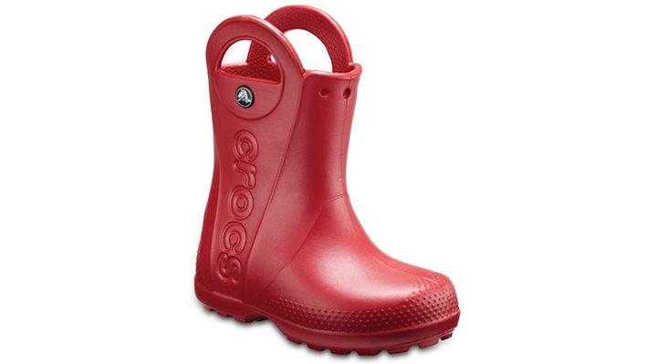 Crocs Pepper Kids' Handle It Rain Boot Shoes