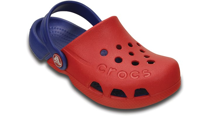 Crocs Pepper / Cerulean Blue Electro Shoes