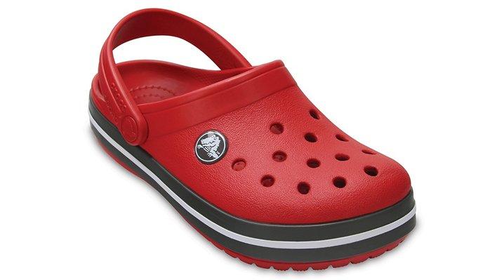 Crocs Pepper / Graphite Kids' Crocband™ Clog Shoes