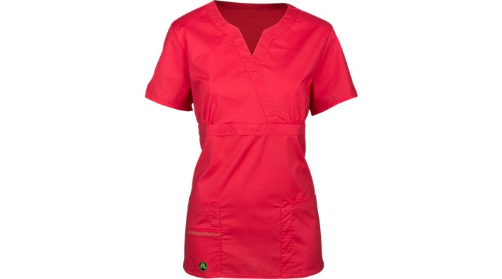 Crocs Scrubs Crystal Crossover Top