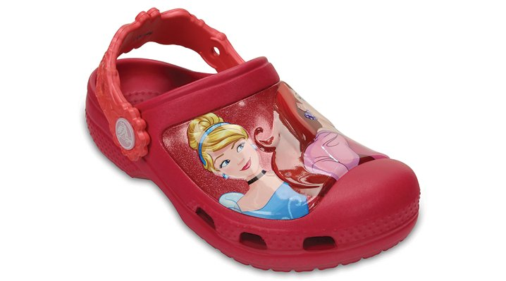 Crocs Raspberry Creative Crocs Dream Big Princess™ Clog Shoes