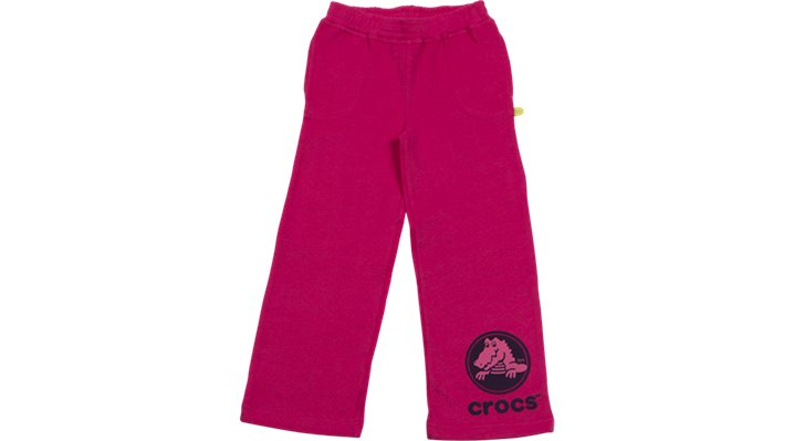 Crocs Raspberry / Mulberry Crocs Girls' Sweat Pants Shoes