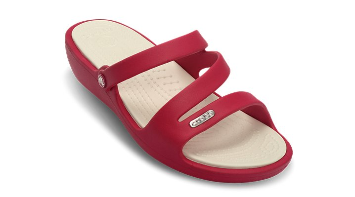 Crocs Raspberry / Oyster Patricia Shoes