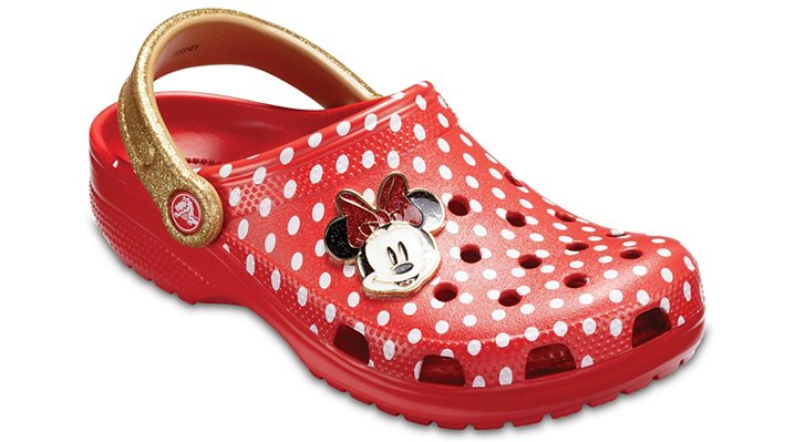 Crocs Red Classic Minnie™ Clog Shoes