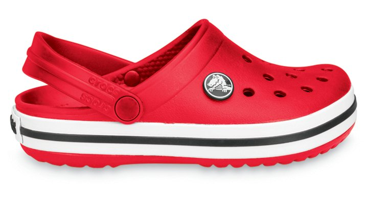 Crocs Red Kids' Crocband Kids' Comfortable Clogs