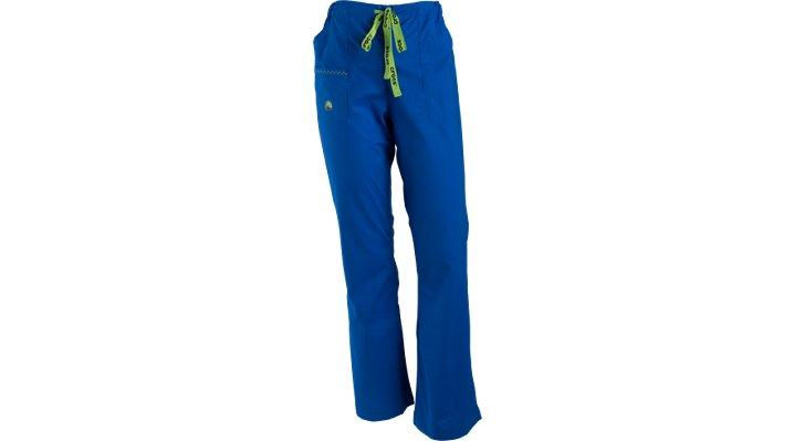 Crocs Scrubs Felicia Flare-leg Pants Petite